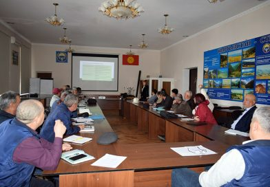 """The Project """"Improving agricultural productivity and nutrition"""" is working to comply with environmental safety measures at the subprojects under rehabilitation."""