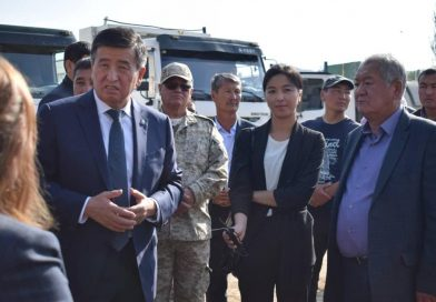 President of the Kyrgyz Republic has visited the construction subproject of the APNIP project